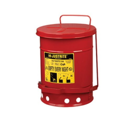 Justrite 폐기물 보관용기 / Justrite Oily Waste Container